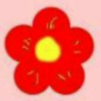 五朵花瓣的简笔画分享展示