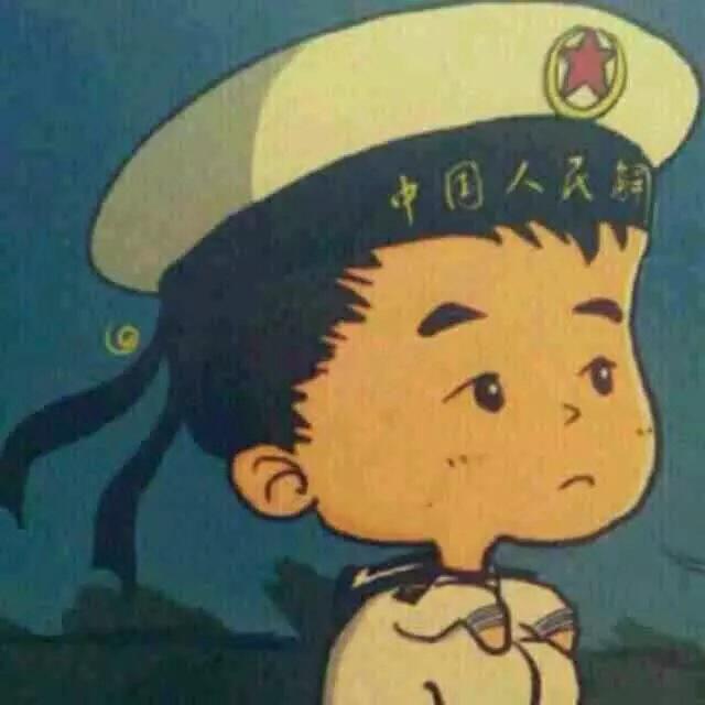 海军卡通微信头像